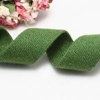 Cloth strips, Woolen thread, Dark green, 92cm x 2.5cm