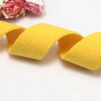 Cloth strips, Woolen thread, Yellow, 92cm x 2.5cm