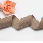 Woolen Ribbons, Woolen, brown, 92cm x 3cm (approximate)