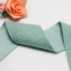 Woolen Ribbons, Woolen, Turquoise colour, 92cm x 5cm
