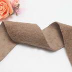 Woolen Ribbons, Woolen, Light brown, 92cm x 5cm