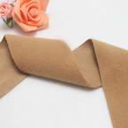 Woolen Ribbons, Woolen, brown, 100cm x 5cm