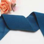 Woolen Ribbons, Woolen, blue, 100cm x 5cm
