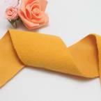 Woolen Ribbons, Woolen, orange, 100cm x 5cm