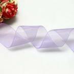 Ribbon, Sheer, Light purple, 2.5m x 2.5cm