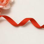 Grosgrain Ribbons, Polyester, Pinkish red, 2.76m x 0.6cm