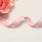 Grosgrain Ribbons, Polyester, pink, 2.76m x 0.6cm