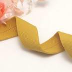 Speckled ribbons, Cloth, Mustard, 92cm x 2.5cm
