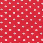 Hand sewn cloth, red, white, 30cm x 30cm
