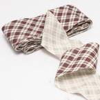 Cotton Bias Binding, Cloth, brown, 2.5m x 4cm, 1 Cotton Bias Binding
