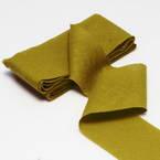 Cotton Bias Binding, Cloth, Mustard, 2.5m x 4cm, 1 Cotton Bias Binding