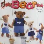 Felt fabric Model Kit - Bear