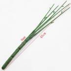 Plastic Flower stem, Plastic, Dark green, 45cm x 8mm