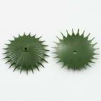 Sunflower Flower holder, Plastic, Dark green, 5cm, 15 pieces