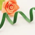 Ribbon, Nylon, green, 2m x 0.7cm
