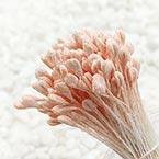 Matt cereal Stamens, pink, Matt (not shiny), 170 pieces (approximate)