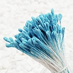 Matt cereal Stamens, Dark blue, Matt (not shiny), 170 pieces (approximate)