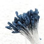 Matt cereal Stamens, Dark blue, Matt (not shiny), 190 pieces (approximate)