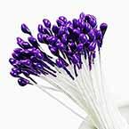 Flower stamen, Dark purple, 80 pieces (approximate)