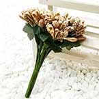 Mini Bouquet Flower Stamen - Speckled, 12 pieces, Long 9cm