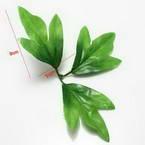 Peony leaf, Plastic, green, 9cm x 7cm, 10 pieces