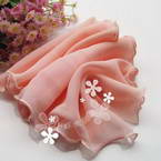 Sheers Cloth, Sheer, pink, 95cm x 20cm (approximate)