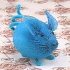 Handmade nylon product, wires and Nylon, blue, Pig, 1 Animal, 9cm x 6cm x 6cm