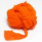 Single colour Specially dyed nylon, Nylon, orange, Stretched Size 1.5m x 15cm, 1 piece