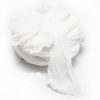 Single colour Specially dyed nylon, Nylon, white, Stretched Size 1.5m x 15cm, 1 piece