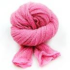 Nylon Brillant, Nylon, rose, Étiré Taille 110cm x 25cm, 1 morceau