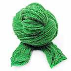 Nylon Brillant, Nylon, vert, Étiré Taille 110cm x 25cm, 1 morceau