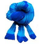Two colours Specially dyed nylon, Nylon, Dark blue, Light blue, 1 piece, Stretched size 1.5m x 15cm