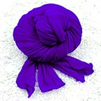 Single colour Specially dyed nylon, Nylon, Dark purple, Stretched Size 1.5m x 15cm, 1 piece