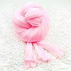 Single colour Specially dyed nylon, Nylon, pink, 1 piece, Stretched size 1.5m x 15cm