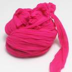 Single colour Specially dyed nylon, Nylon, Magenta, 1 piece, Stretched size 1.5m x 15cm