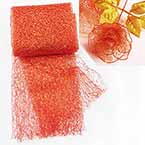Sansi Specially dyed nylon, Nylon, red, 75cm x 80cm, 1 piece