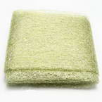 Sansi Specially dyed nylon, Nylon, Green-Yellow, 75cm x 80cm, 1 piece