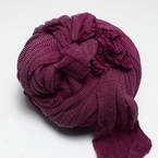 Single colour Specially dyed nylon, Nylon, Burgandy, Stretched size 1.8m x 15cm, 1 piece