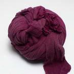 Single colour Specially dyed nylon, Nylon, Burgandy, Stretched size 1.8m x 15cm, 1 piece