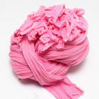 Single colour Specially dyed nylon, Nylon, pink, Stretched size 1.8cm x 15cm, 1 piece