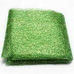 Sansi Specially dyed nylon, Nylon, Bright green, 75cm x 80cm, 1 piece