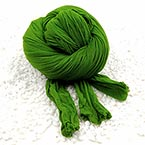 Single colour Specially dyed nylon, Nylon, green, Stretched Size per piece 1.5m x 15cm, 4 pieces