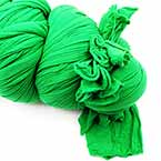 Extra long specially dyed nylon - Single colour, Nylon, green, Stretched Size 2.5m x 25cm (approximate), 1 piece