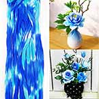 Rainbow Colour Specially dyed nylon, Dark blue, blue, Stretched Size 2.5m x 25cm, 1 piece