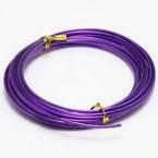 Aluminium wires, Aluminium, purple, 5m (approximate), 0.2cm
