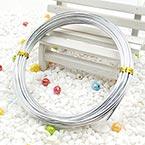 Aluminium wires, Aluminium, Silver colour, 5m (approximate), 0.2cm