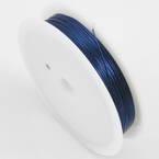 Colour copper wires, Copper, Dark blue, 10m, 0.5mm