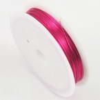 Colour copper wires, Copper, Magenta, 10m, 0.5mm