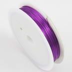 Colour copper wires, Copper, purple, 10m, 0.5mm