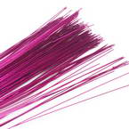 Florist wires, Pinkish red, 20 pieces, Length 80cm, Diameter 0.8mm (approximate), Gauge 20
